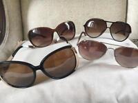 4 pairs shades , river island , ladies