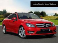 Mercedes-Benz C Class C180 BLUEEFFICIENCY AMG SPORT (red) 2013-09-30