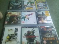 playstation 3 games, open to offers
