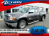 2011 GMC Sierra 1500 NEVADA EDITION EXT CAB AUTO AIR