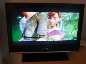 Sony Bravia HD LCD- 26 inch screen- excellent condition