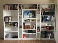 Book Shelves Wall (6 Pieces) - £180 / OBO