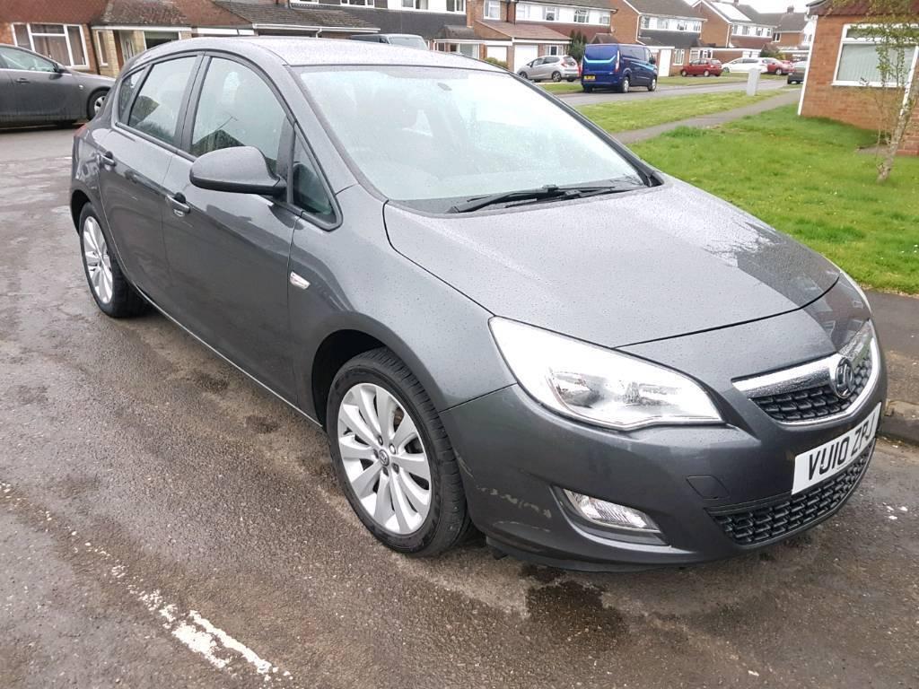 Vauxhall Astra Exclusive 1.4