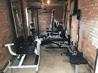 "Complete Gym, Squat Rack, Weights, Bench, Pull Up, 2"" Olympic Sizing, Loads More"