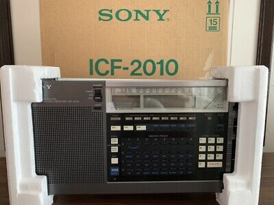 Sony ICF-2010 Receiver AIR/FM/LW/MW/SW - Excellent Condition with Original Box