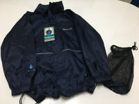 New Outdoor Scene waterproof packaway jacket with tags age 9-10 years
