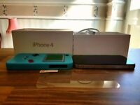 Iphone 4 on EE- 16GB in very good condition, with the box, charger and case.