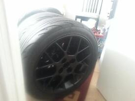mx5 wheels and new tyres road and track