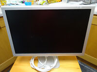 Two Apple Widescreen Moniters