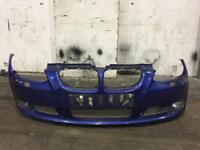 BMW E92 SE FRONT BUMPER AND FOG LIGHTS FROM A 2007 335i