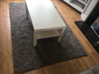 Ikea Hampen Grey Rug 133cm x 195cm RRP £30