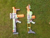 Vortex Nerf guns for sale! Both guns in very good condition, acquired new guns hence the sale.