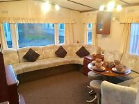 Cottage Static Caravan - 2017 Site Fees Included - Central Heating & Double Glazing