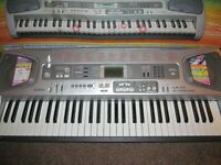 Casio Keyboard LK-55 light up keys
