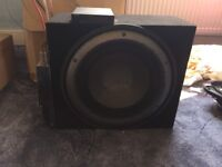 Car Subwoofer, Amplifier & 6 x 9 Speakers
