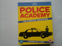 Police Academy Complete blu ray Movie Collection