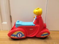 Fisher Price laugh and learn scooter