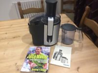 Philips HR 1861 Juicer plus Jason Vale recipe book