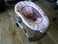 Carter baby biuncer seat with music and vibration