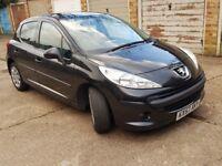 Peugeot 207 1.4 S *Petrol* Black 5 Door HatchBack