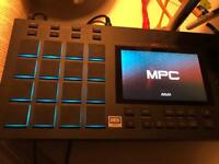 AKAI MPC LIVE music production center sampler with touchscreen