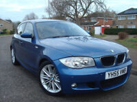 BMW 118d M-Sport Edition 6 speed Manual 5dr,FULL SERVICE HISTORY,SPORT BLUE EDITION LEATHER SEATS