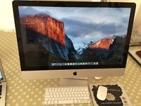 iMac 27 Intel Quad Core i7 3.4GHz (2011) 8GB Ram 1TB HDD wireless keyboard & mouse fully working!