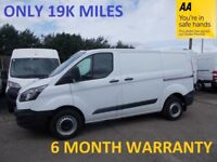 **ONLY 19,000 MILES***Ford Transit Custom 2.2 TDCi 100 270 SWB L/Roof**FULL FORD SERVICE***LEASE CO