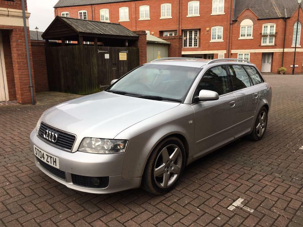 2004 AUDI A4 AVANT 1.9 TDI QUATTRO SPORT MANUAL 162K FULL SERVICE HISTORY  AND TWO KEYS
