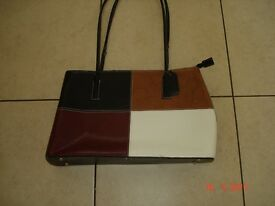 Brown/Beige Handbag