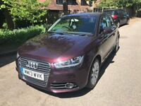 Audio A1 Sports TFSI Shiraz Red £9199