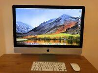 Apple iMac 27-inch, Retina 5K, 8GB RAM, 1TB Fusion Drive. Barely used. Mint!