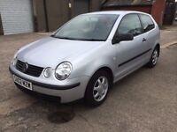 2002 VOLKSWAGEN POLO 1.2 3Dr