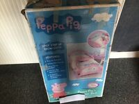 Peppa pig toddler bed. Only used once