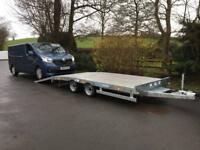 Car transporter trailer plant trailer dale kane Lowloader trailer