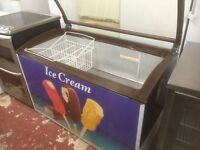 Ice cream freezer £140 fully working and guaranteed can deliver