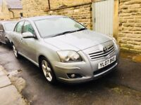 Toyota Avensis 2.2 d4d saloon 07 5door full leather 6speed 12 month Mot warranty px offers