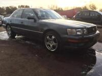 Lexus ls400 1991 4.0 v8 full mot 168k modified Px swaps