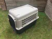 'Great Choice' plastic Dog Crate