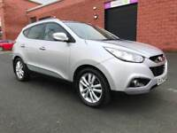 MAY 2010 HYUNDAI IX35 PREMIUM 2.0 CRDI FULL SERVICE HISTORY ONE OWNER EXCELLENT CONDITION