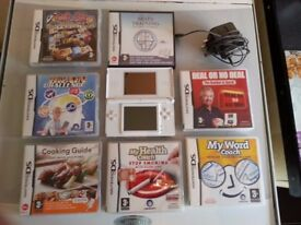 DS Lite and games
