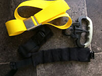 TANK HANDLE -ANKLE WIEGHTS -DIVING BELT