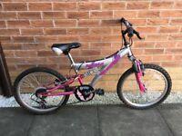 Girl Freespirit Bubble bike