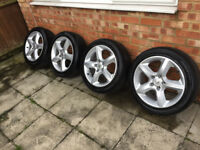 "Vauxhall 17"" SRi Alloy Wheels With 4 Matching Tyres (Astra, Zafira)"