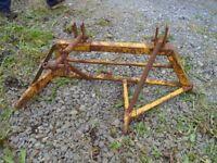 Western motors Offset plough mount ( suit ferguson, fordson, massey, nuffield)