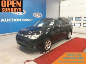 2014 Mitsubishi Outlander GT 4X4! 7 PASS! NAVI! FINANCE NOW!