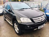 MERCEDES ML 320CDI 2007 AUTOMATIC HALF LEATHER DIESEL SPORT SAT NAV PARKING SENSORS SIDE STEPS