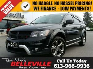2016 Dodge Journey Crossroad-AWD-DVD-Navigation