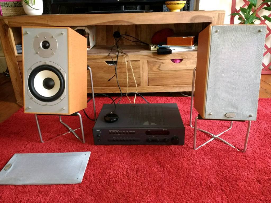 Hifi stereo NAD + speakers + Bluetooth | in Haringey, London