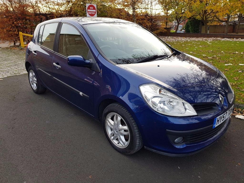 renault clio 1 2 tce privilege 5dr blue 2007 in ashington northumberland gumtree. Black Bedroom Furniture Sets. Home Design Ideas